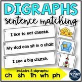 Digraphs Sentence Matching Centers