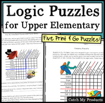 Logic Puzzles - Print and Go