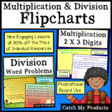 Multiplication and Division Lesson Plans PROMETHEAN Board