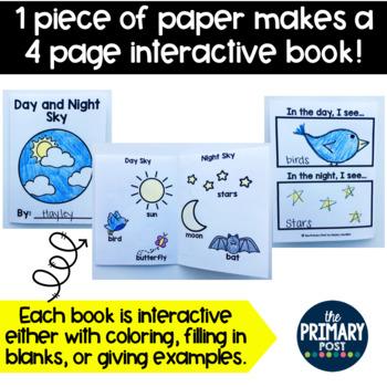 Kindergarten Science Mini-Books