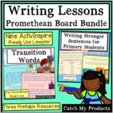 Writing Lessons ActivInspire Bundle for Promethean Board Primary Students