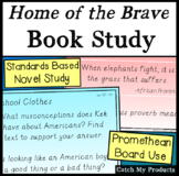 Home of the Brave Novel Study for PROMETHEAN BOARD