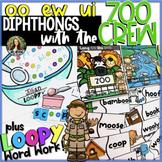 OO Diphthongs w/ the Zoo Crew! oo - ew - ui * Distance Learning * Google Slides