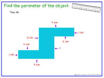 Area and Perimeter Flip Charts for Promethean Board
