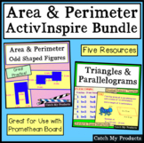 Area and Perimeter Flip Charts for Promethean Board
