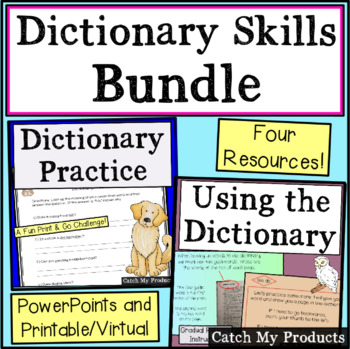 Dictionary Skills Practice Worksheets Teaching Resources TpT