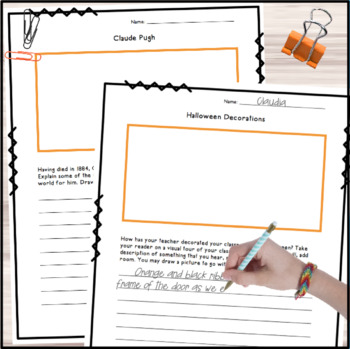 Halloween Writing and Logic Puzzles