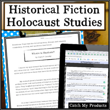 Holocaust Story with Questions (Where is HaShem?)
