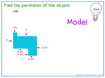 Perimeter of Composite Figures for PROMETHEAN BOARD