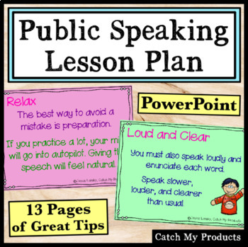 Public Speaking Lessons