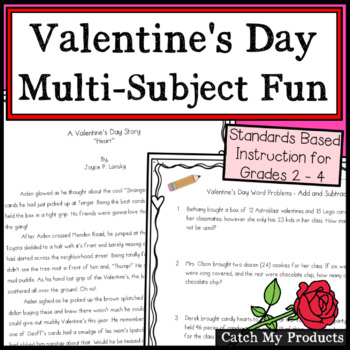 Valentines Day Activities - Multi Subject