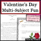 Valentines Day Activities - Multi Subject
