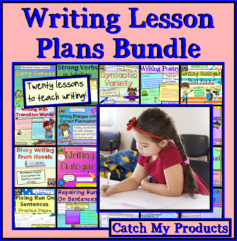 Writing Lessons Bundle