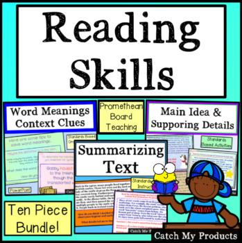Reading Skills for PROMETHEAN Board