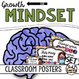 New Years Growth Mindset Posters PLUS BONUS Growth Mindset Quote Cards