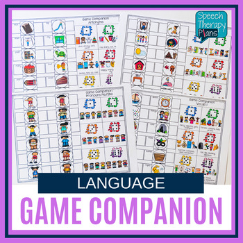 No Prep Language Game Companion for Any Game