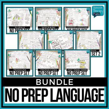 No Prep Language Bundle