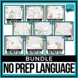 No Prep Language Bundle