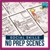 No Prep Social Skills Scenes