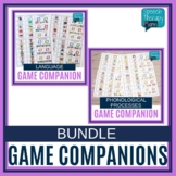 No Prep Speech Therapy ALL GAMES Game Companion Bundle