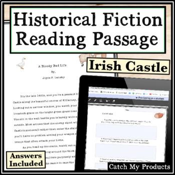 Nonfiction Comprehension Close Reading Passage Irish Castle