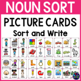 Noun Picture Cards and Noun Sort