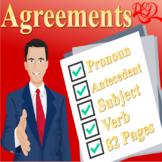 ⭐Subject Verb Agreement ❘ Pronoun Antecedent Agreement ❘ B