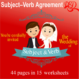 ⭐Subject and Verb Agreement | Worksheet Pack | Reviews | 7