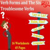 Verb Usage | Irregular Verbs | Verb Forms | Six Troublesom