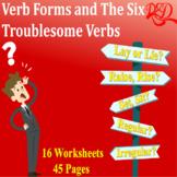 ⭐Verb Usage | Irregular Verbs | Verb Forms | Six Troubleso