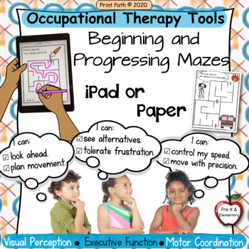 Occupational Therapy Tools for Perception, Executive Function, Motor Control