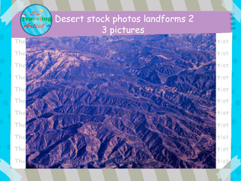 Desert Landforms 2 Stock Photographs
