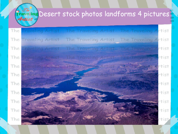 Desert Landforms Stock Photographs