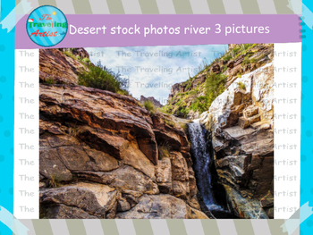 Desert Rivers Stock Photographs
