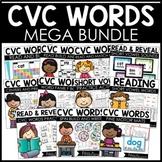 Phonics Activities CVC Words MEGA BUNDLE!