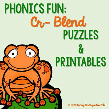 Phonics Fun: CR Blends