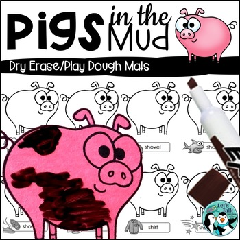 Pigs in the Mud Activity Mats for Articulation