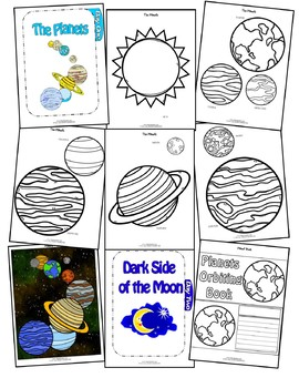 Planets Orbiting (5-Day Thematic Unit)
