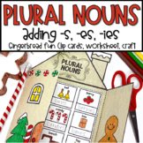 Gingerbread Craftivity With Plural Nouns With S, ES, IES FUN