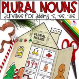 Plural Nouns |  Christmas Grammar Activities | Christmas Craft