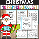 Preschool Christmas Activities for Preschool, Christmas Math Worksheets
