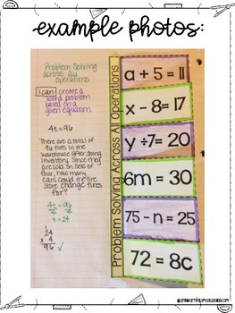 Problem Solving with All Operations for Interactive Notebooks