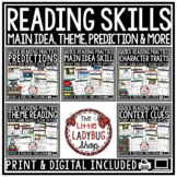 Digital Quick Theme, Main Idea Reading Comprehension Passa