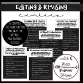 Revising and Editing Interactive Centers (Chalkboard Edition)