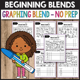 S Blends Worksheets, R Blends Activities - Graphing Blends