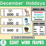 Holidays Around the World Sight Word Sentence Builders