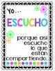 SPANISH VERSION Class Rules Poster Set