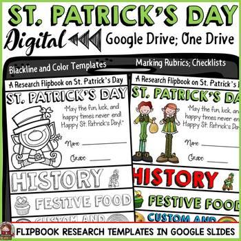 ST PATRICK'S DAY: DIGITAL RESEARCH REPORT : GOOGLE DRIVE: GOOGLE SLIDES