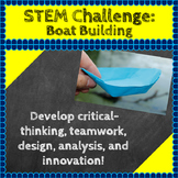 STEM Challenges: Boat-Building STEM Activity (Science, Tech, Engineering, Math)
