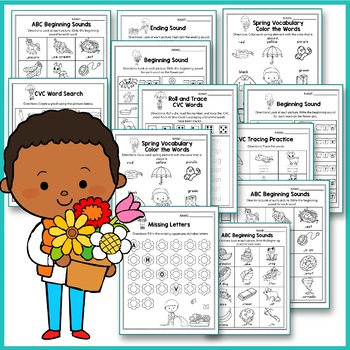 Spring Activities For Kindergarten (Literacy) - Mothers Day Writing Activities